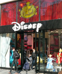 The Disney Store On The Champs Elysees Paris