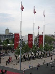 Paris porte de versailles exhibition hall trade fairs in for Paris expo porte de versailles parking